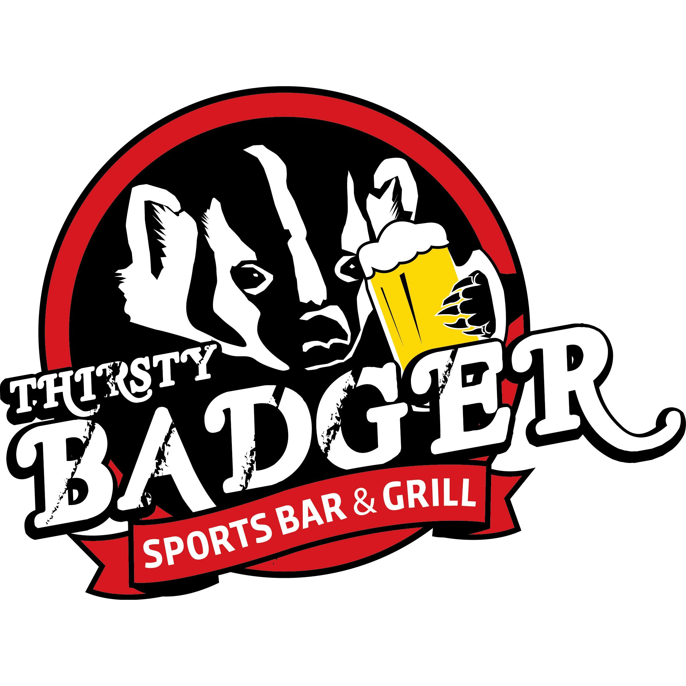 Thirsty Badger Logo